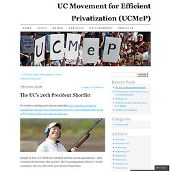 UC Movement for Efficient Privatization (UCMeP)