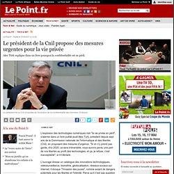 Le président de la Cnil propose des mesures urgentes pour la vie privée