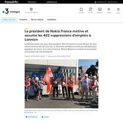 Le président de Nokia France motive et assume les 402 suppressions d'emplois à Lannion