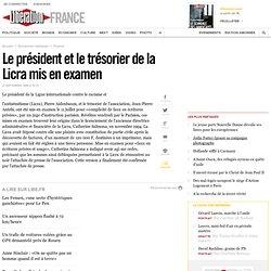 11/07/1996 LICRA, mise en examen des Pdt & trésorier
