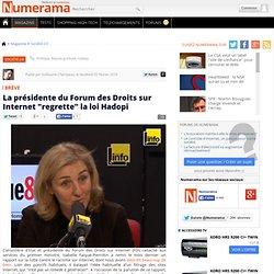 """La présidente du Forum des Droits sur Internet """"regrette"""" la loi"""