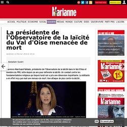 La présidente de l'Observatoire de la laïcité du Val d'Oise menacée de mort