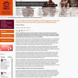 Los presidentes de la Comisión y del Eurogrupo crearon la trama de fraude (...)