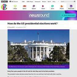 How do the US presidential elections work? - CBBC Newsround