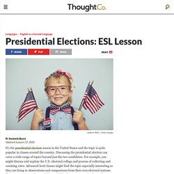 Presidential Elections: ESL Lesson
