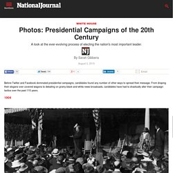 presidential campaigns in pictures