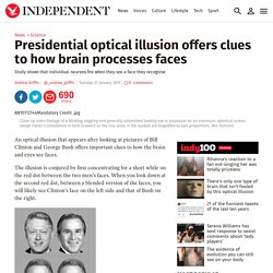 Presidential optical illusion offers clues to how brain processes faces