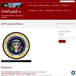 US Presidential Election ⋆ Intermediate, Themes