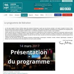 Le programme présidentiel de François Asselineau pour l'élection de 2017