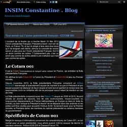 Tout savoir sur l'avion présidentiel français - COTAM 001 - I N S I M Constantine . Blog