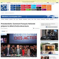 Comment François Hollande prépare le débat d'entre-deux-tours