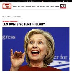 Présidentielle américaine - Les OVNIs votent Hillary