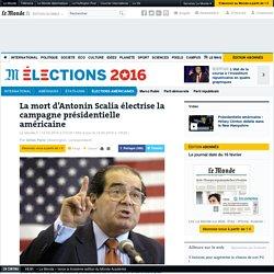 La mort d'Antonin Scalia électrise la campagne présidentielle américaine