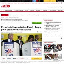 Présidentielle américaine. Direct : Trump porte plainte contre le Nevada