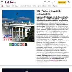 Dossier : USA : Election présidentielle américaine 2020