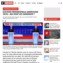 Election présidentielle américaine 2020 : qui sont les candidats ?
