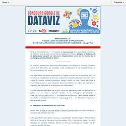 Présidentielle 2012 : Google lance un concours d'applications ouvert à tous