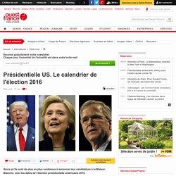 Présidentielle US. Le calendrier de l'élection 2016
