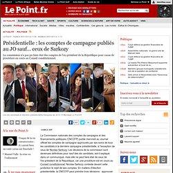 Présidentielle : les comptes de campagne publiés au JO sauf... ceux de Sarkozy