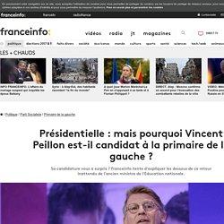 Présidentielle : mais pourquoi Vincent Peillon est-il candidat à la primaire de la gauche ?