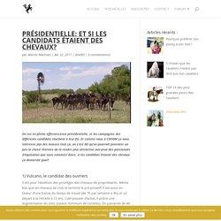 CSODM - Présidentielle: et si les candidats étaient des chevaux?