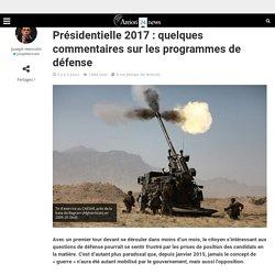 Présidentielle 2017: quelques commentaires sur les programmes de défense