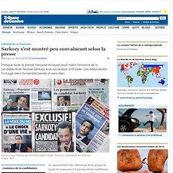 Présidentielle française: Sarkozy s'est montré peu convaincant selon la presse - News Monde: Europe