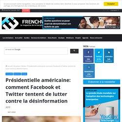 Présidentielle américaine: comment Facebook et Twitter tentent de lutter contre la désinformation