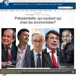 Présidentielle: qui soutient qui chez les économistes?