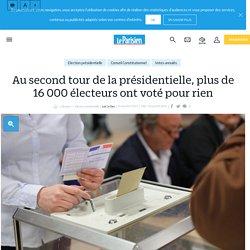 Au second tour de la présidentielle, plus de 16 000 électeurs ont voté pour rien - Le Parisien
