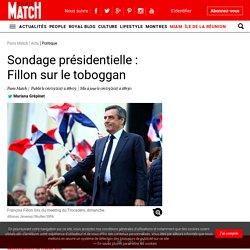 Sondage présidentielle : François Fillon dans le toboggan