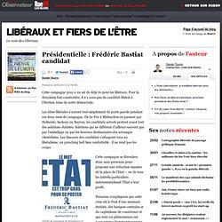 Présidentielle: Frédéric Bastiat candidat