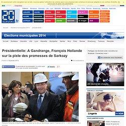 Présidentielle: En Lorraine, le candidat Hollande sur la piste des promesses de Sarkozy