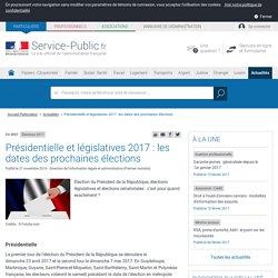 Calendrier électoral -Présidentielle et législatives 2017: les dates des élections précisées
