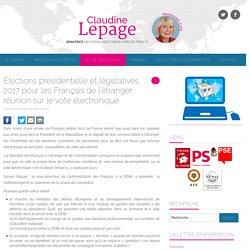 Élections présidentielle et législatives 2017 pour les Français de l'étranger: réunion sur le vote électronique – Neuhausen Café
