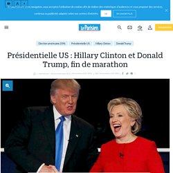 Présidentielle US : Hillary Clinton et Donald Trump, fin de marathon - le Par...