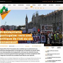 Présidentielle portugaise: vers une critique de l'UE ou un consensus?