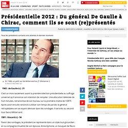 Présidentielle 2012 : Du général De Gaulle à Chirac, comment ils se sont (re)présentés