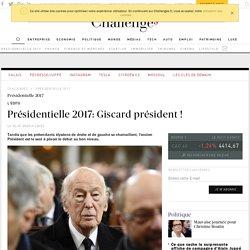 Présidentielle 2017: Giscard président, pour que l'Europe vive !