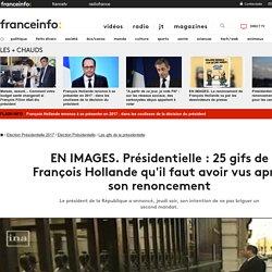 EN IMAGES. Présidentielle : 25 gifs de François Hollande qu'il faut avoir vus après son renoncement