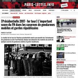 [Présidentielle 2017 - 1er tour] L'important score du FN dans les casernes de gendarmes mobiles et gardes républicains