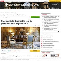 Présidentielle. Quel est le rôle du président de la République ?