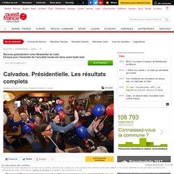Calvados. Présidentielle. Les résultats complets