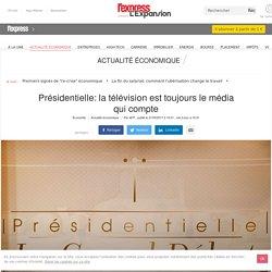 Présidentielle: la télévision est toujours le média qui compte