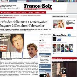 Présidentielle 2012 : L'incroyable bagarre Mélenchon-Trierweiler