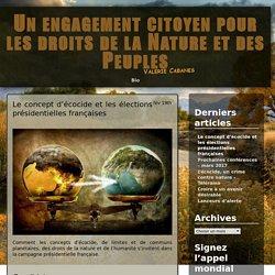 Le concept d'écocide et les élections présidentielles françaises