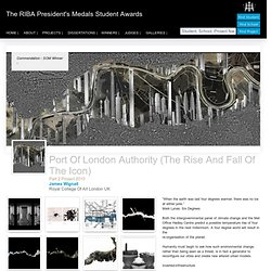 Port of London Authority (The Rise and Fall of the Icon)