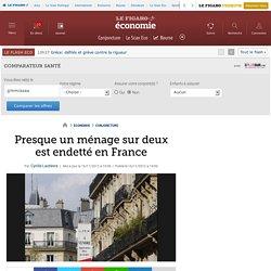 Conjoncture : Presque un ménage sur deux est endetté en France