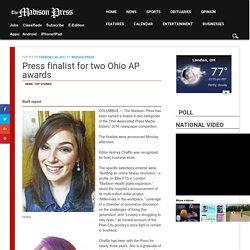 Press finalist for two Ohio AP awards - Madison Press