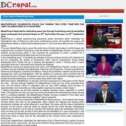Press release of MasterPeace Nepal